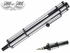 Parafernalia Revolution Big Satin Chrome | Penna Stilografica | Fountain Pen