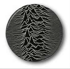 "JOY DIVISION UNKNOWN PLEASURES -  25mm 1"" Button Badge - Cute Novelty"