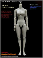 "Kumik 1/6 Scale 12"" Caucasian Female Base Body Action Figure Doll KBF-003"