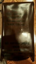 Vintage US Military MRE Menu No. 7 Turkey, Diced W/ Gravy