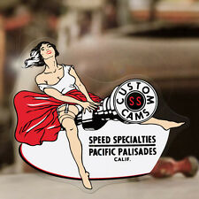 SPEED Specialties Adesivi Sticker Autocollant Hot Rod Old School PINUP PIN UP