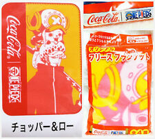 Coca Cola Japan Anime One Piece winter soft chopper Trafalgar Law Blanket Throw