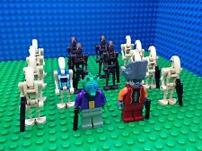 Lego Star Clone Wars Commando Pilot DROID FEDERATION ARMY Onaconda Farr Minifigs