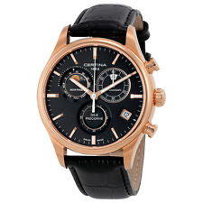 Certina DS-8 Chronograph Black Dial Mens Watch C033.450.36.051.00