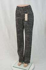 LEVI'S Womens 512 Perfectly Slimming Straight Leg CAMO Jeans Size 8M NWT $54