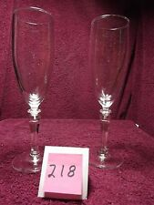 Vintage champagne / wine glasses