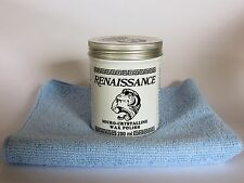 "Renaissance Wax - 200ml (7oz) Can With a Light Blue 14""x14"" Microfiber Cloth"