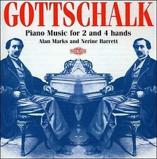 Piano Music for 2 and 4 Hands (Marks, Barrett) CD NEW