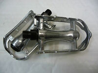 "RETRO SPORTS ROAD BIKE CYCLE 9/16"" PEDALS SILVER ALLOY Vintage Style"