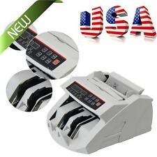 USA Automatic Money Bill Currency Counter Machine Counterfeit Detector UV MG HOT