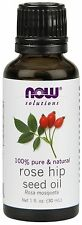 NOW Foods Rose Hip Seed Oil 1 oz Bottle For Diffusers & Burners
