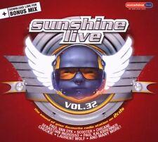 SUNSHINE LIVE 32 = Dyk/Scooter/Kalkbrenner/Chuckie...=2CD= grooves DELUXE !!!
