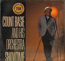 "COUNT BASIE ""SHOWTIME"" DOUBLE LP'S 1982 MCA 2-4163"