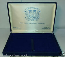 Rare Dominican Republic 1979 BOX ONLY for a 6 Coins Proof Set USA AIR FORCE case