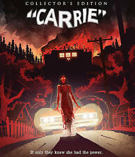 CARRIE 2 DISC BLU-RAY *INCL SLIPCOVER* COLLECTORS EDITION NEW SEALED HD WS TRKG!