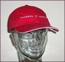 New CARRERA y CARRERA Spain red cotton embroidered ball cap - one size