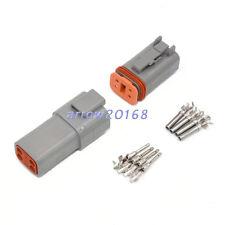 10 Sets 4 way Automotive Connector Deutsch DT Series Kit DT04-4P and DT06-4S