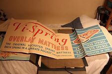 VINTAGE COMMERCIAL ARTWORK, VI-SPRING MATTRESS , 1950s / 60s