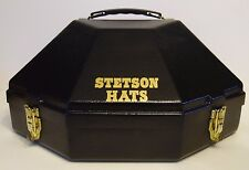 STETSON HATS ADVERTISING CARRYING TRAVEL CASE FOR YOUR 100x - 1000x COWBOY HAT