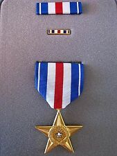 ORIGINAL UNITED STATES SILVER STAR BRAVERY MEDAL ORDER IN PRESENTATION CASE