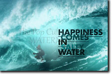 SURFING MOTIVATIONAL POSTER 7 QUOTE SURF MOTIVATION PHOTO PRINT GIFT WAVES
