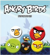 Angry Birds Faces Badge Pack - Official Licensed Product