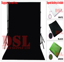 Black Photo Studio Background Backdrop Chromakey Photography Cloth 1.6 x 2M