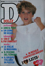 DOLLY 344 1985 Madonna Jeff Bridges Alan Parsons Rutger Hauer Michelle Pfeiffer