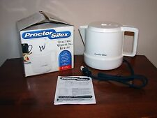 Proctor Silex K1050 Electric Whistling Kettle Hot Pot w/ Box - 1000W