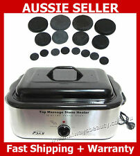 18Q Hot Stone Heater Ex Large  + Free Stones Spa Hot Stones Massage Aussie Sale