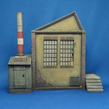 Reality In Scale 35237 - Large Factory - 1:35 scale resin diorama building