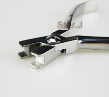 Dental Orthodontic Plier Torque Bending Plier (Twin head with Torque Template)