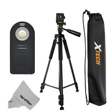 "Pro 60"" Tripod with Wireless Remote for Canon T2i, T3, T3i, T4i, T5i, 6D, 7D,1DX"