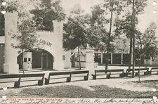 Rockford IL * Scene in Harlem Park  1905 * Amusement Park