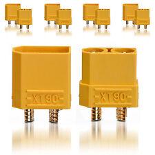 Hochstrom XT90 Stecker Buchse Goldkontaktstecker 5 Paar partCore 100148