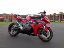 Injection Red Gloss Black Complete Fairing Fit for 2006-2007 Honda CBR1000RR s25