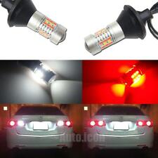 White/Red Switchback 7440 T20 LED Conversion Kit For Car Reverse Backup Lights