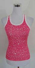AUTHENTIC NIKE PINK & WHITE WOMEN'S TOP SIZE M