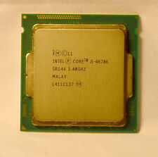 Intel Core i5-4670K  3.40Ghz  Quad Core CPU  LGA1150