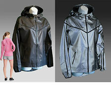 NIKE  21ST CENTURY Reflective WINDRUNNER Ladies Womens Jackets Coats Black