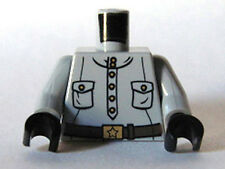 LEGO - Minifig Torso Six Button Placket with Pockets & Gold Buckle w/ Star