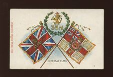 Military 33rd WEST RIDING REGIMENT Havercake Lads Flags pre1919 PPC