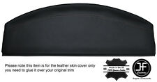 GREY STITCHING REAR PARCEL SHELF LEATHER COVER FITS VW BEETLE 1998-2011