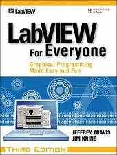 LabVIEW for Everyone -Graphical Programming 3rd Edition - Hard Cover w/ Software