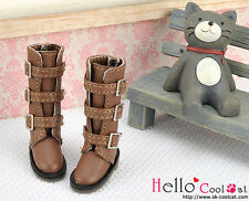 ☆╮Cool Cat╭☆【17-04】Blythe Pullip Doll Shoes Boots # Brown