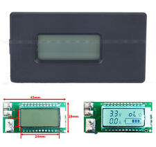 18650 Lithium Li-ion Battery Tester Voltage Current Capacity Detector LCD Meter