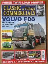 Classic & Vintage Commercials September 2016 Volvo F88 Foden Twin Load ERF LV