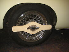 MG NEW MGB  MIDGET MGC  GT  V8 WOOD WIRE WHEEL SPINNER SAVER  ***