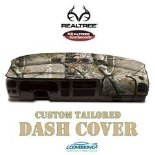 REALTREE HARDWOODS CUSTOM TAILORED DASH COVER for CHEVY C/K TRUCK