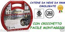 Catene da Neve 9mm Omologate Melchioni Gruppo 50 per pneumatici 165/65R15